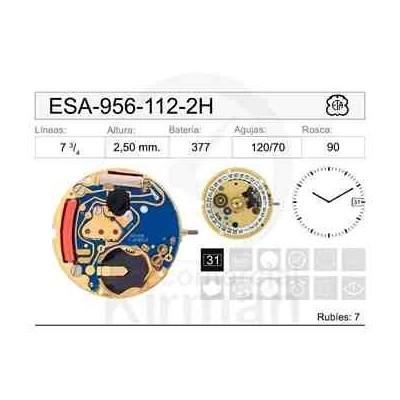 MOVIMIENTO ESA 956-112 2 AGUJAS