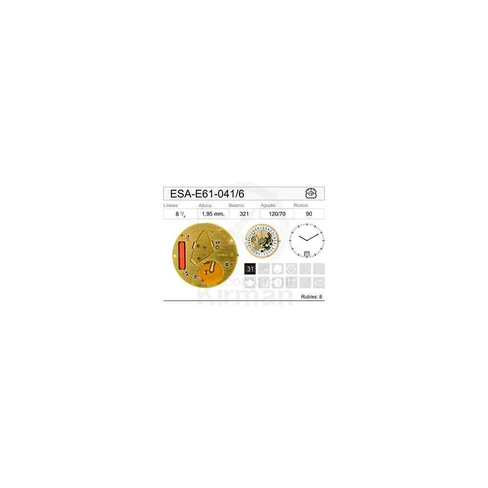 MOVIMIENTO ESA E61-041 CAL 6H