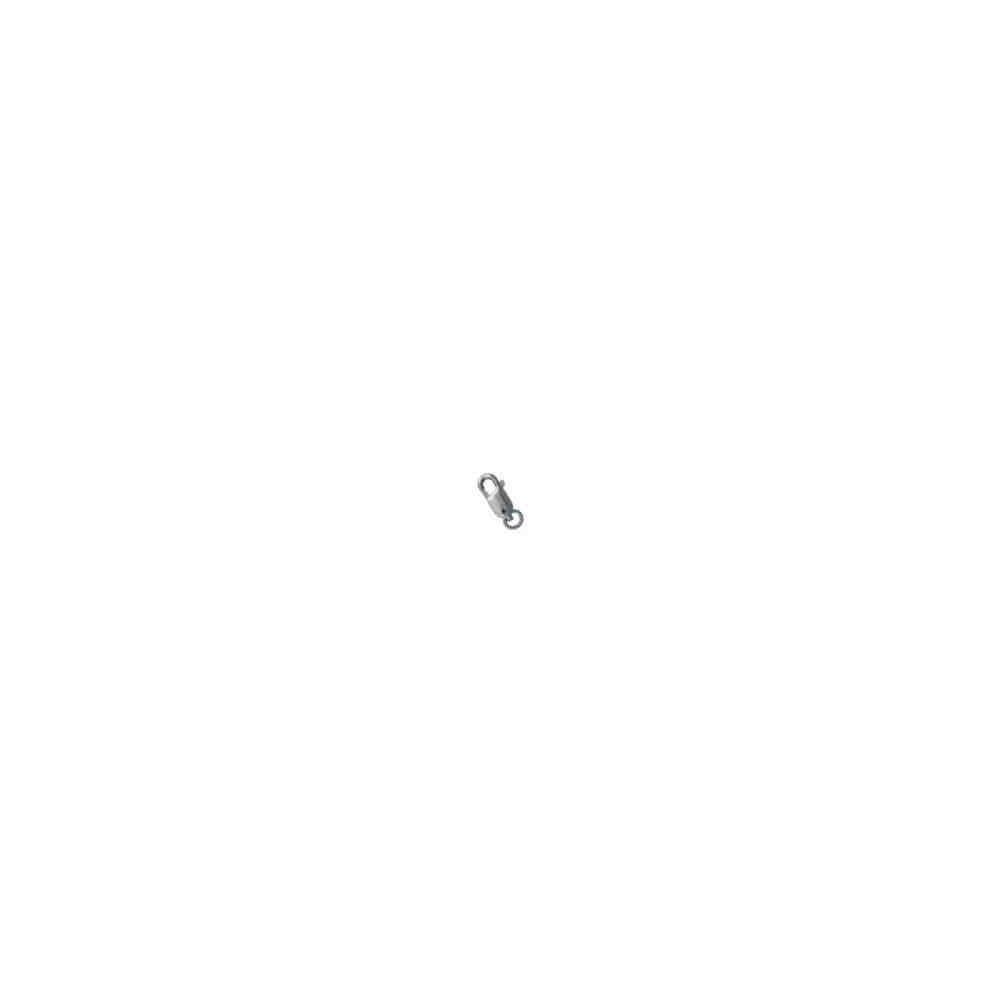 Mosquetón rectangular c/anilla 11.7mm.OB.18 Kt 20114 **