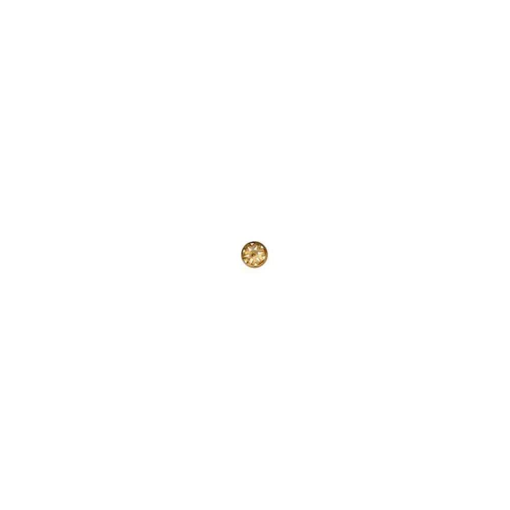 Casquilla para perla japonesa 12mm.OA.18 Kt 24702 **