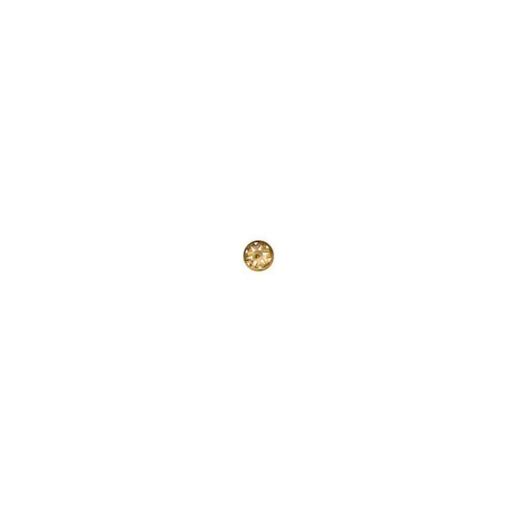 Casquilla para perla japonesa c/omega 14mm.OA.18 Kt 25004 **