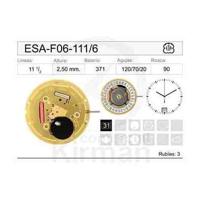 MOVIMIENTO ESA F06-111 CAL. 6H