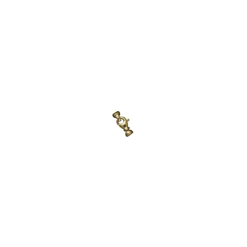 Broche de silueta con casquillas.OA.18 Kt 30875 **