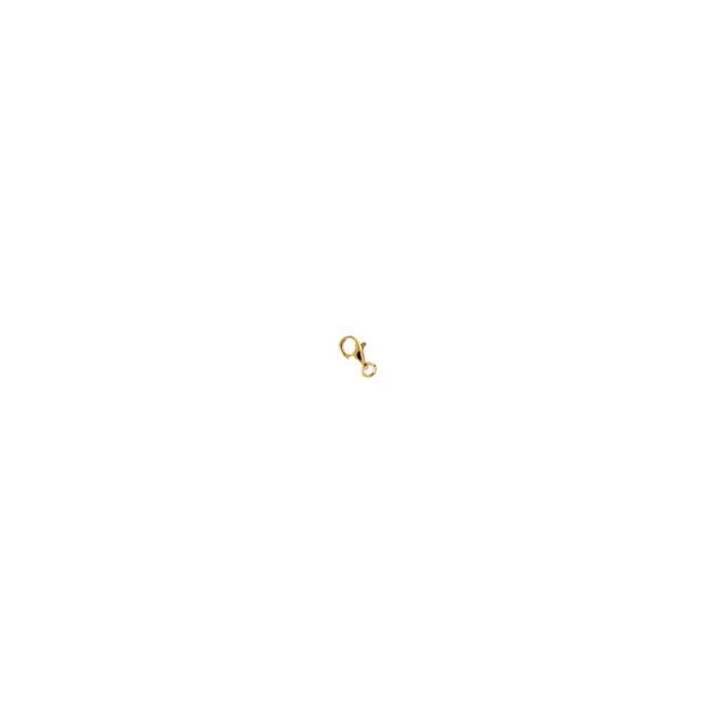 Mosquetón áncora c/anilla 13mm.Oro 9 Kt 39513 **
