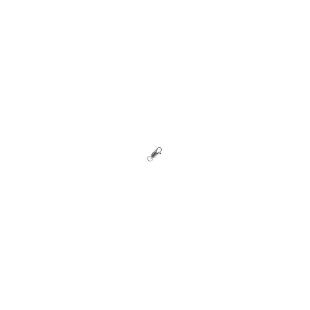 Mosquetón rectangular c/anilla 11mm.AG-925 40113