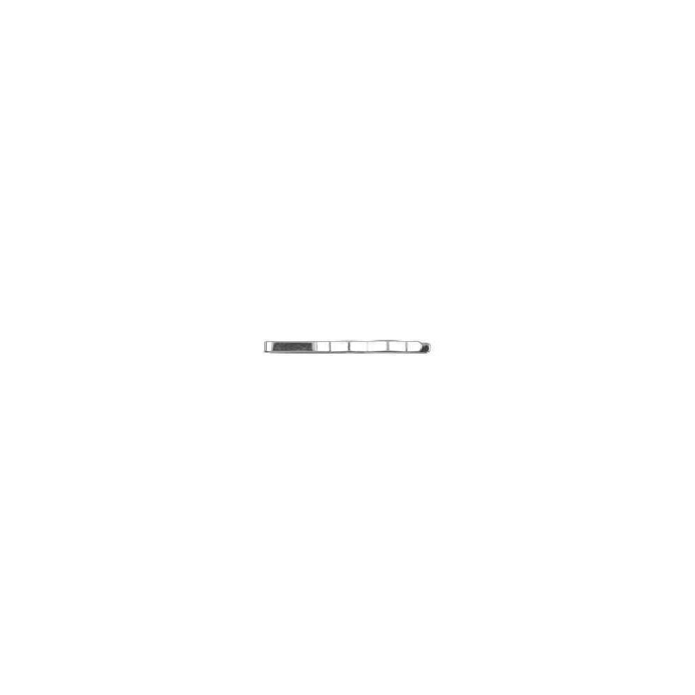 Sistema de alfiler de corbata pala lisa.AG-925 41662
