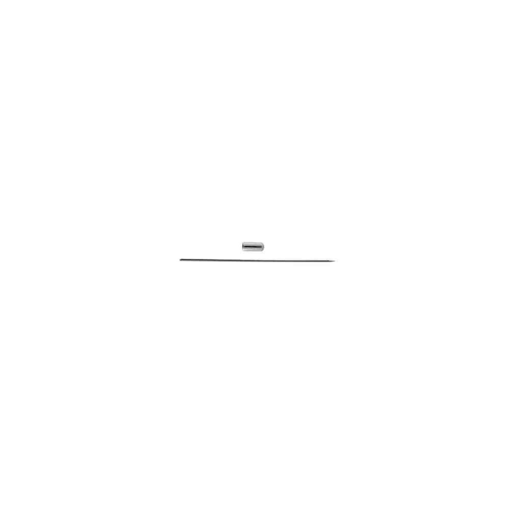 Alfiler con pin.Long 70mm.Hilo 1mm.AG-925 42421