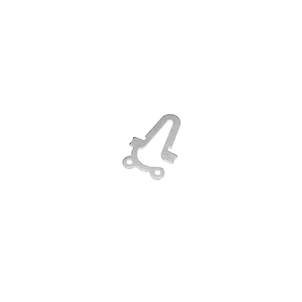 Lengüeta para broche 2 vuelta. AG-925 42591