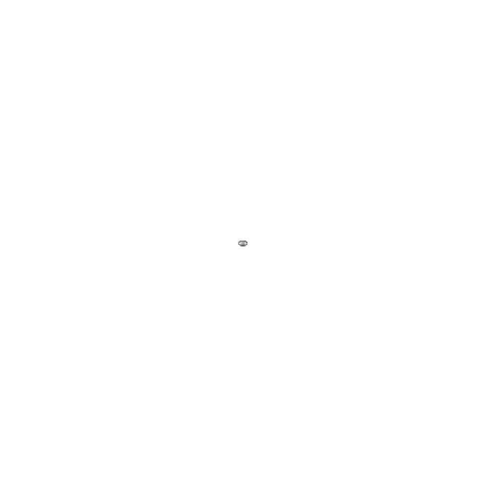 Olivina gallonada 4.5x3mm.Int.1.2mm.AG-925 43177