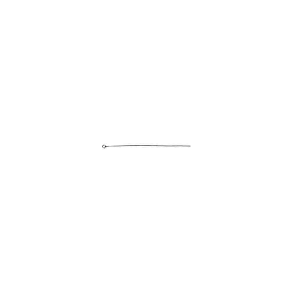 Cadena cola de zorro c/anilla 7cm.AG-925 43928