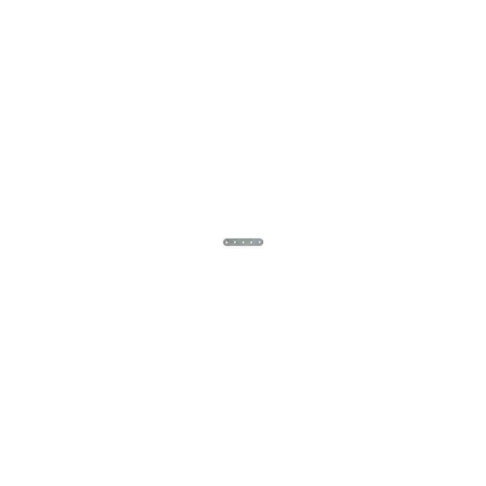 Separador plano 5 vueltas.Long.23.5mm.AG-925 46013