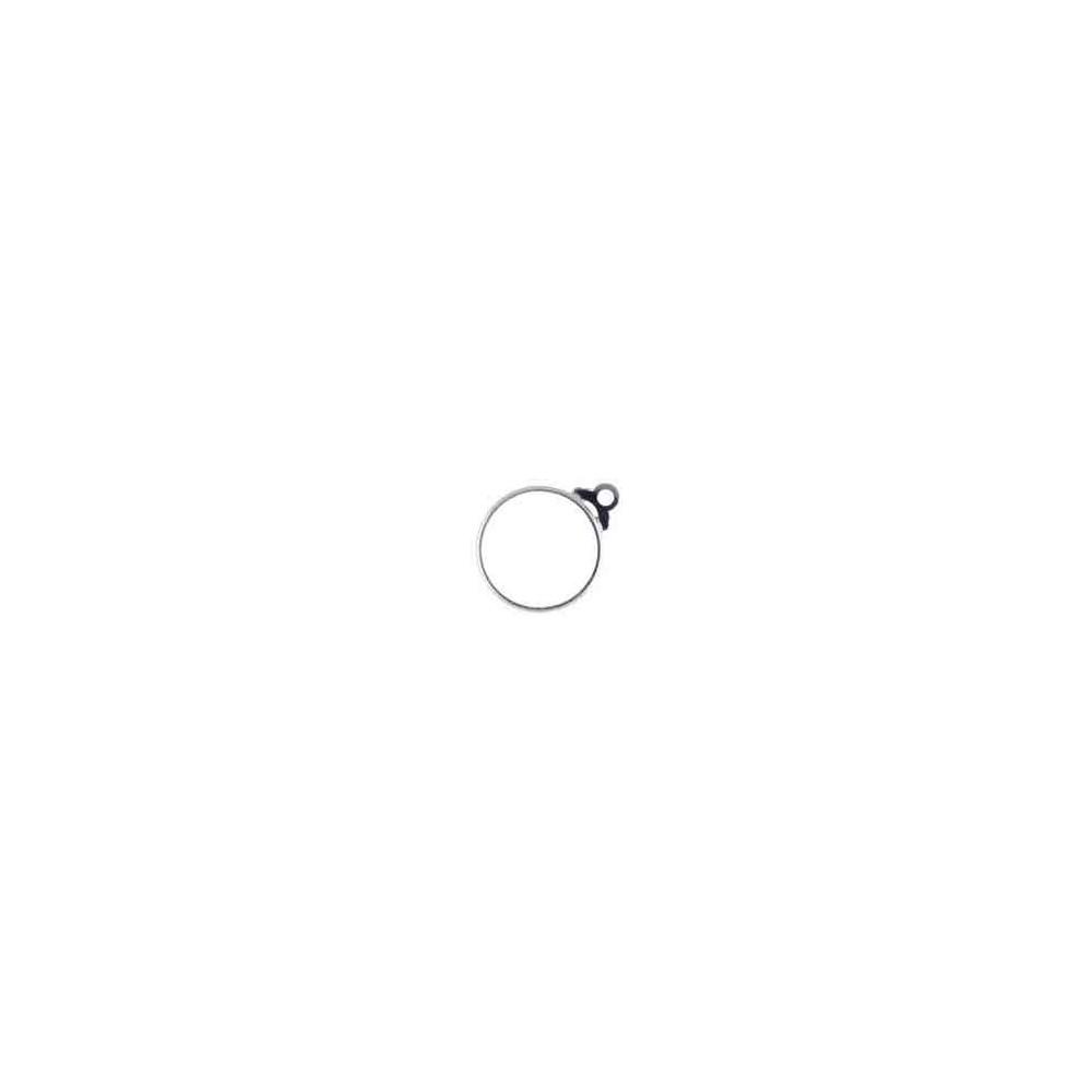 Cerco de moneda int.26mm.AG-925 48504