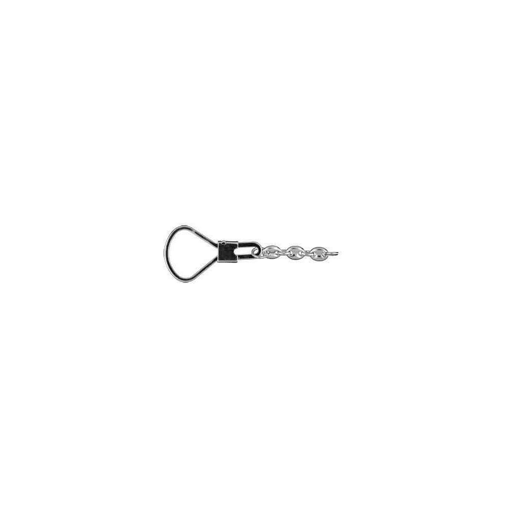 Lira con cadena long.80mm-bombilla 26mm.AG-925 48512