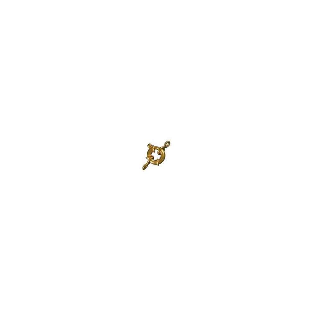 Reasa marinera c/anillas ext.14mm.Tubo 3.35mm.Gold filled 14 50024