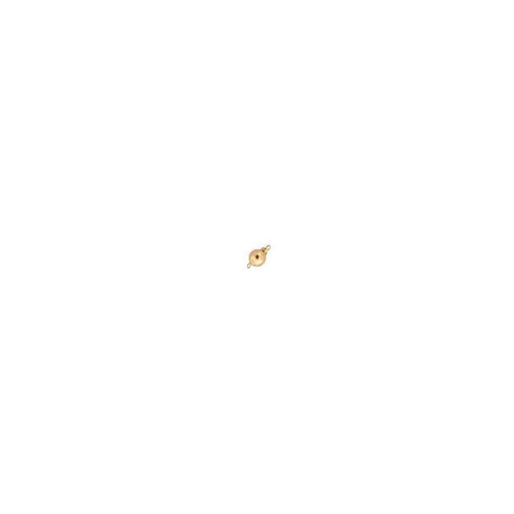 Broche de bola liso 8mm.Gold filled 14/20 53853