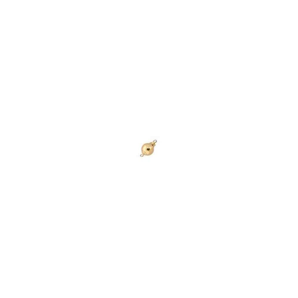 Broche de bola liso 10mm.Gold filled 14/20 53855