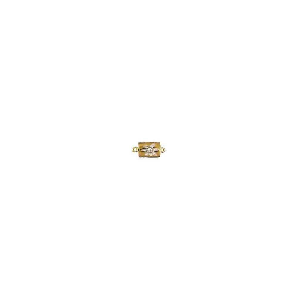 Broche de collar 1 vuelta-AG-925 CH. 70441