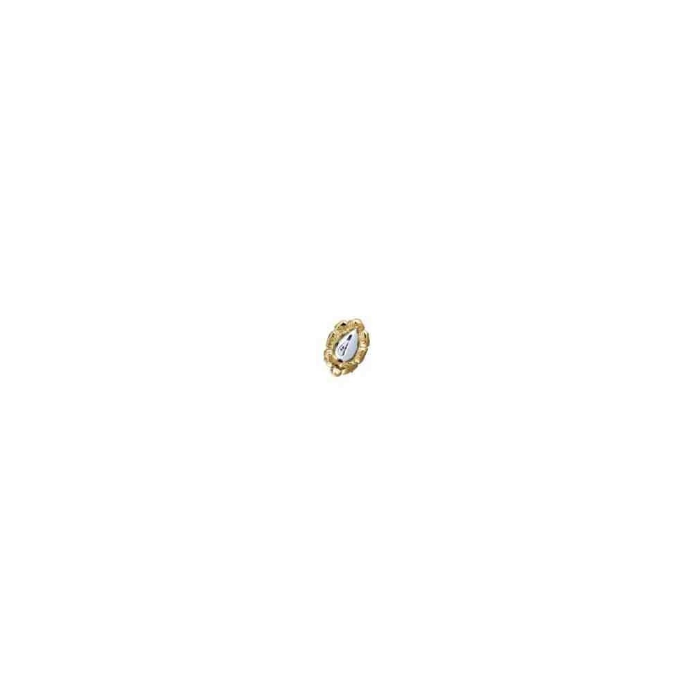 Broche de collar 1 vuelta.AG-925 CH. 70444
