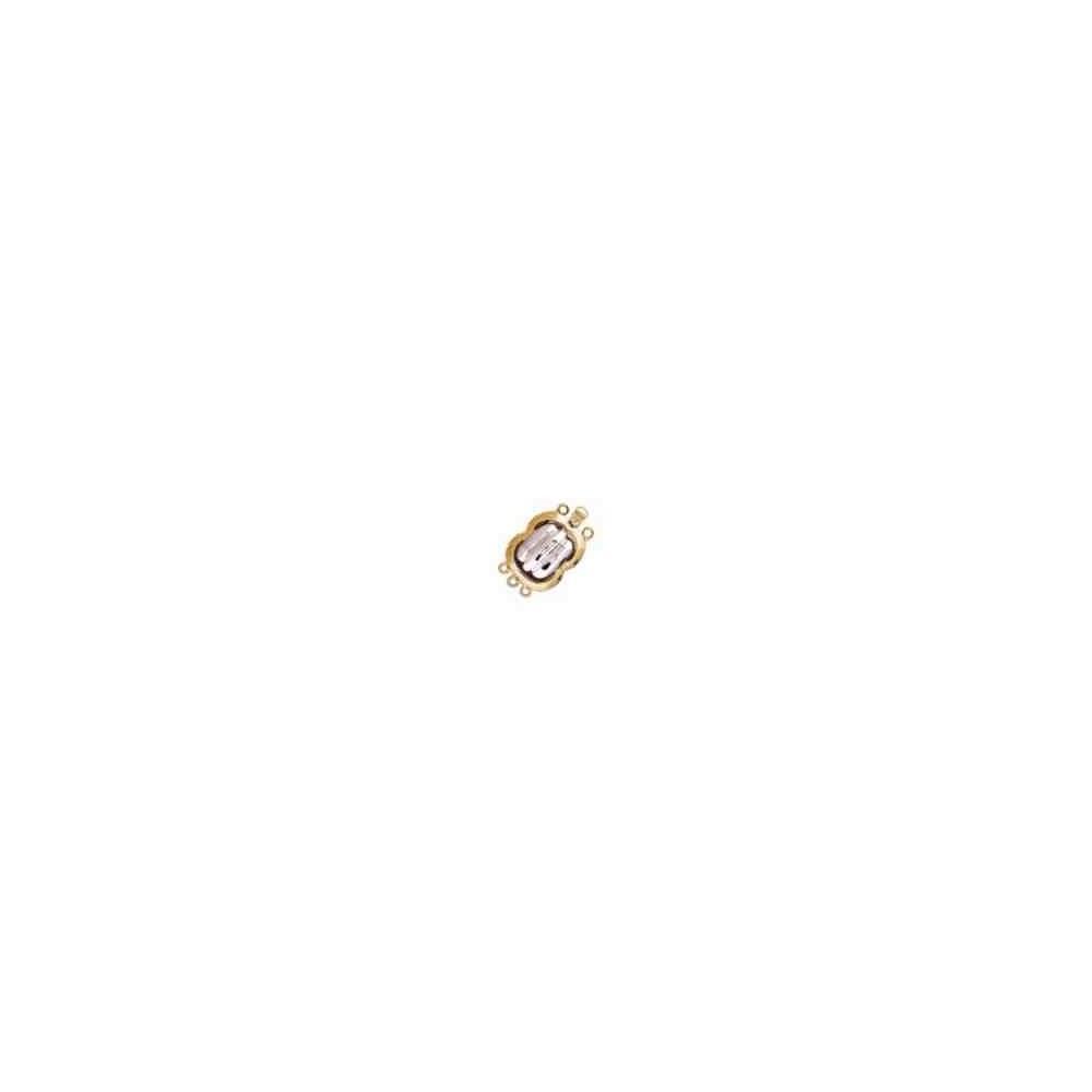 Broches plata chapada 1ª ley - 3 vueltas 70450