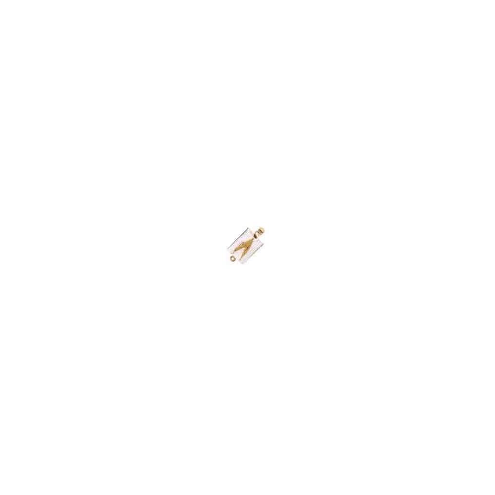 Broche de collar 1 vuelta.AG-925 CH. 70452
