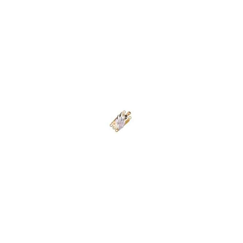 Broches plata chapada 1ª ley - 3 vueltas 70459
