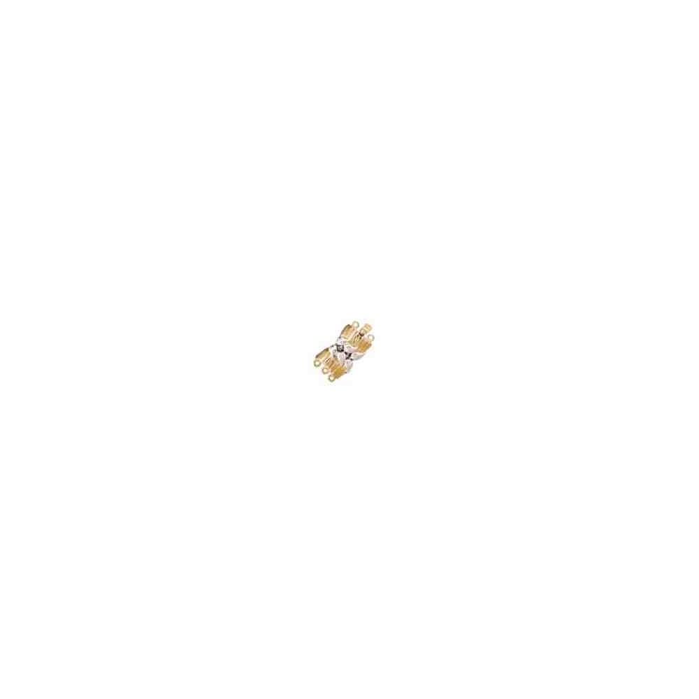 Broche de collar 3 vueltas.AG-925 CH. 70465