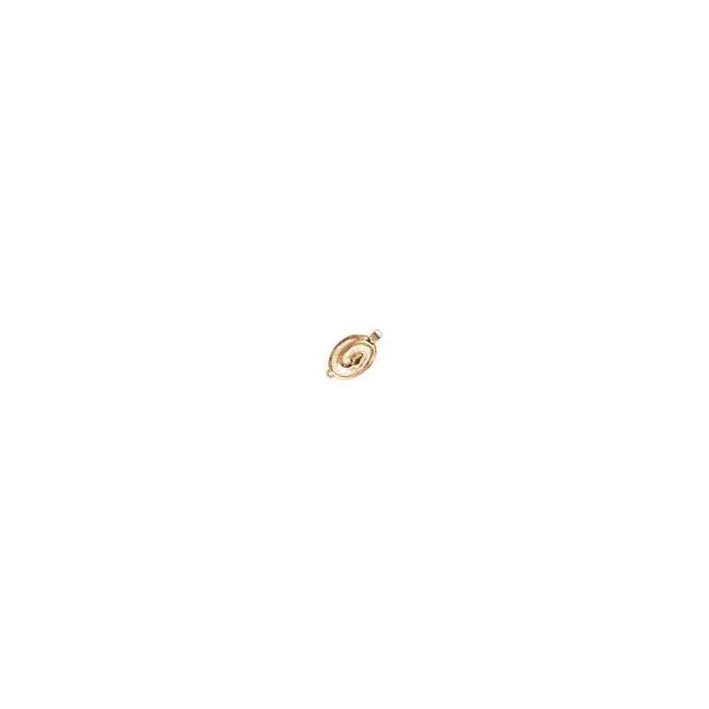 Broche plata chapada 1ª ley - 1 vuelta 70492