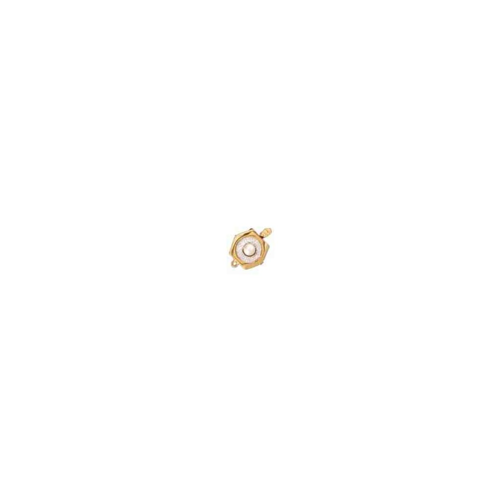 Broche de collar 1 vuelta.AG-925 CH. 70581
