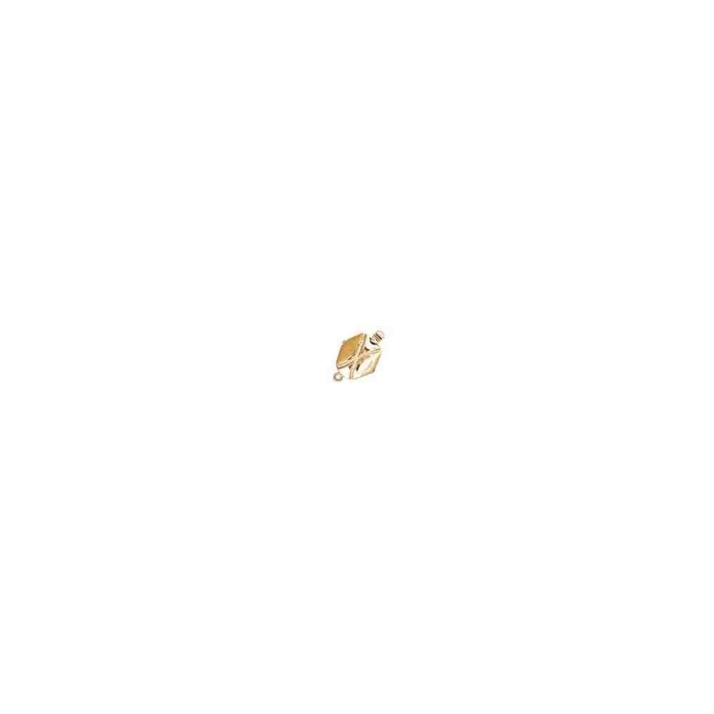 Broche de collar 1 vuelta.AG-925 CH. 70584
