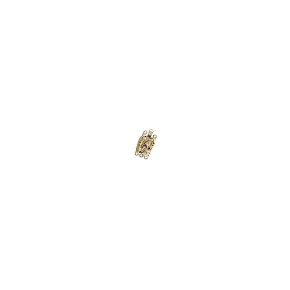 Broche plata chapada 1ª ley - 3 vueltas 70585