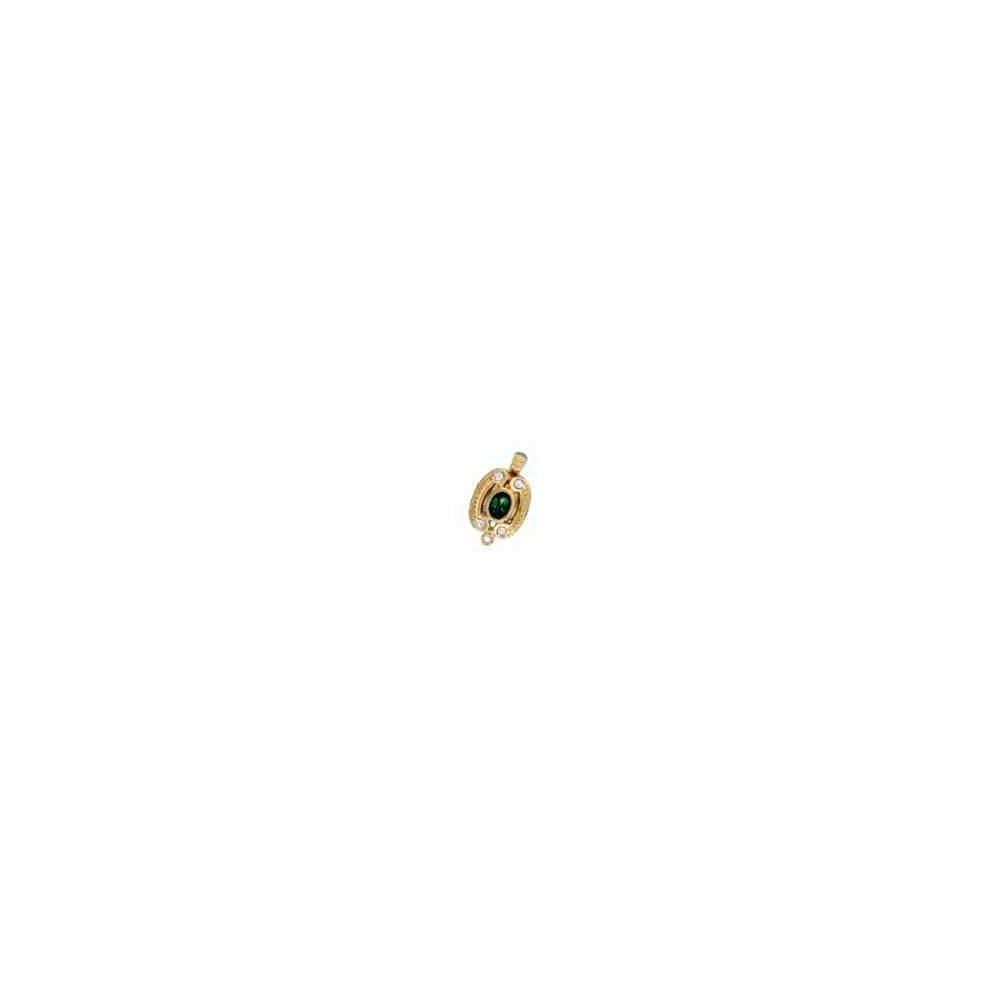 Broche de collar 1 vuelta.AG-925 CH. 70587V