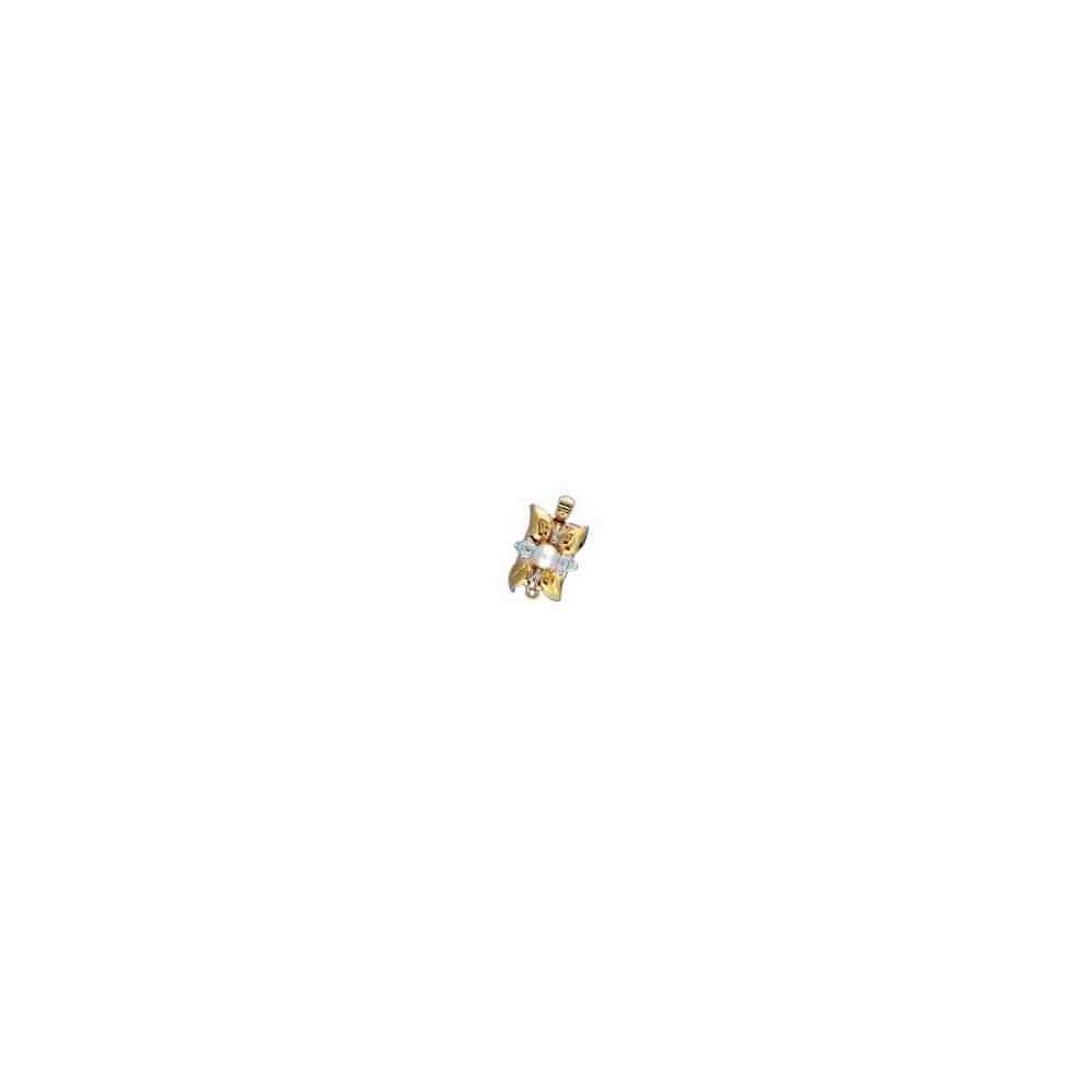 Broche de collar 1 vuelta.AG-925 CH. 70596