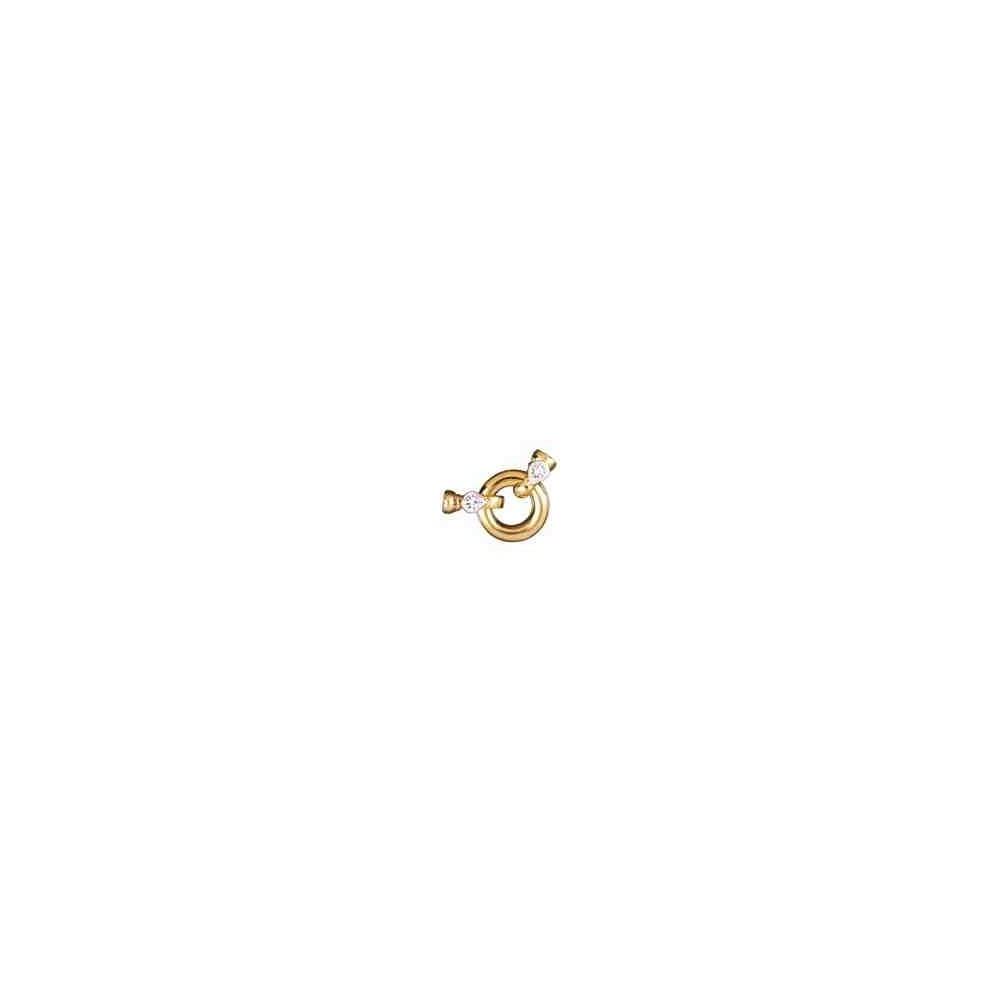 Broches plata chapada 1ª ley - Con casquillas 70601