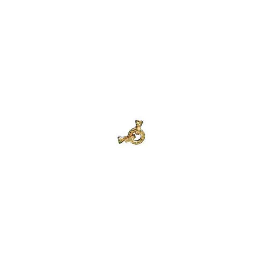 Broches plata chapada 1ªley - Con casquillas 70610