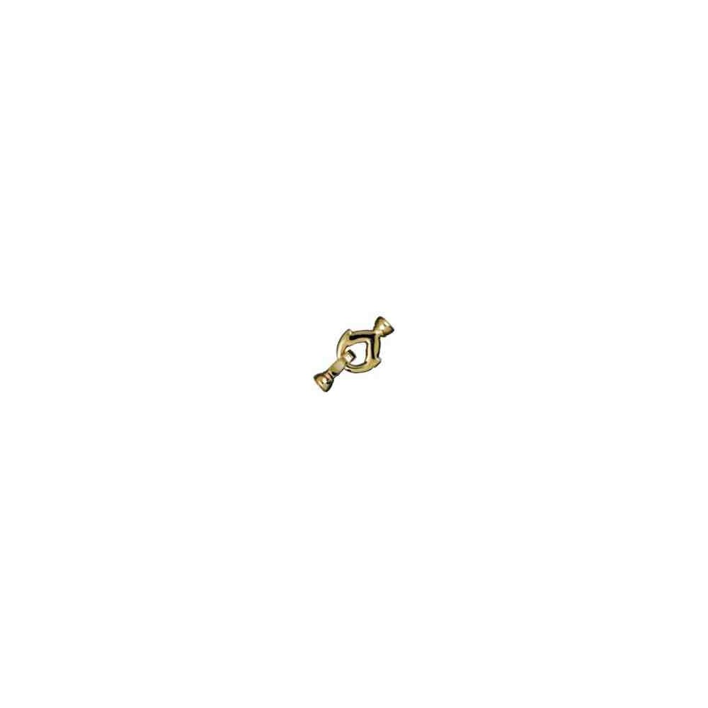 Broche de collar con casquillas.AG-925 CH. 70723