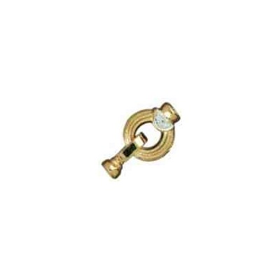 Broche de collar con casquillas.AG-925 CH. 70732