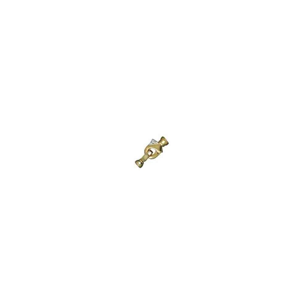 Broche de collar con casquillas.AG-925 CH. 70742