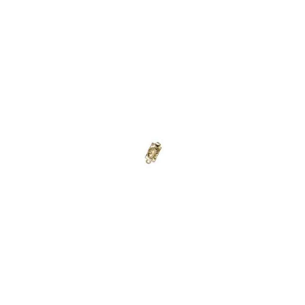 Broche de collar 1 vuelta.AG-925 CH. 70772