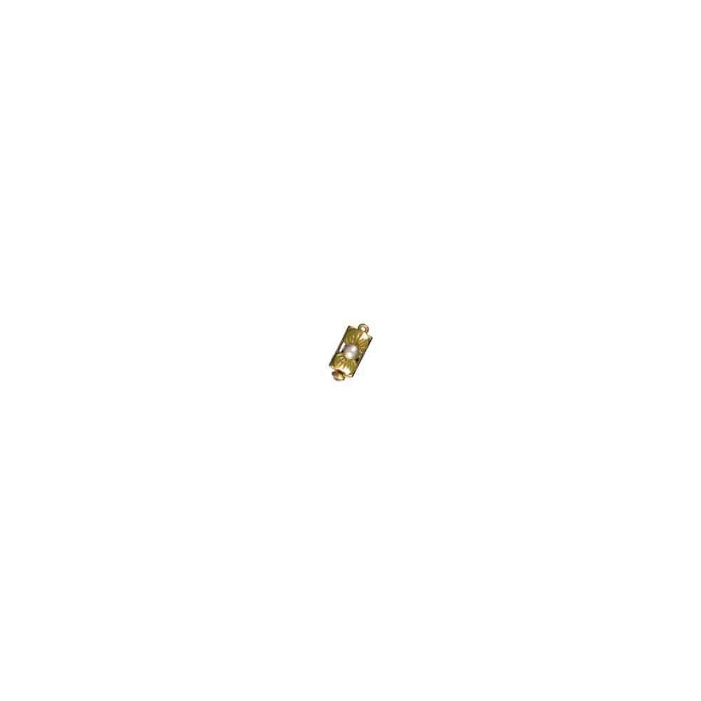 Broches plata chapada 1ª ley - 70781