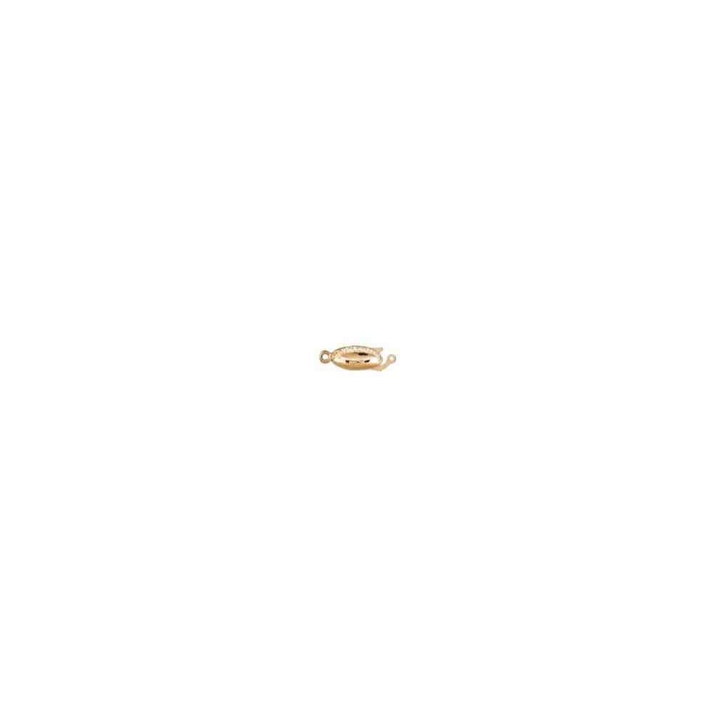 Broche de collar 1 vuelta.AG-925 CH. 70813