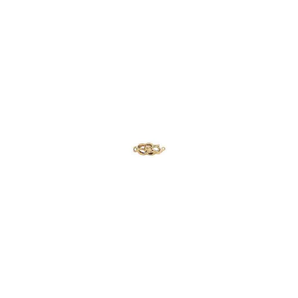 Broche de collar 1 vuelta.AG-925 CH. 70814