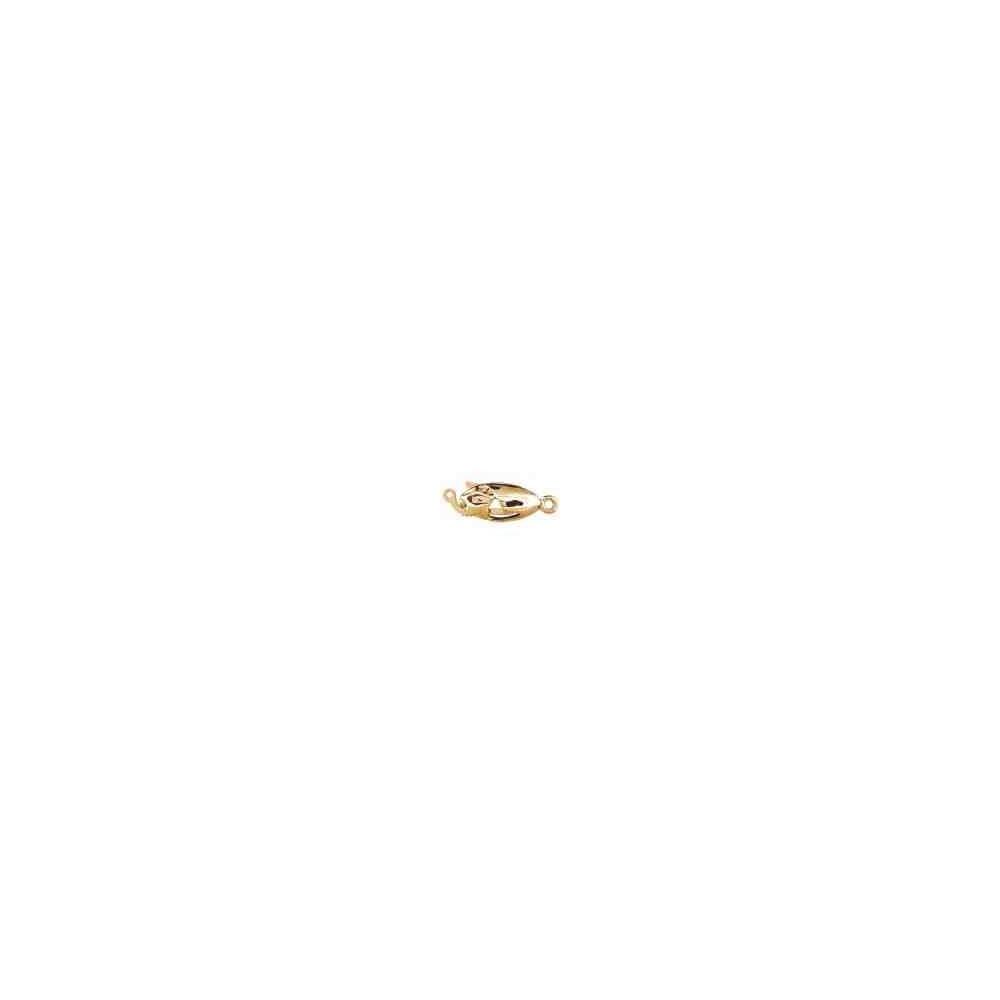 Broche de collar 1 vuelta.AG-925 CH. 70817