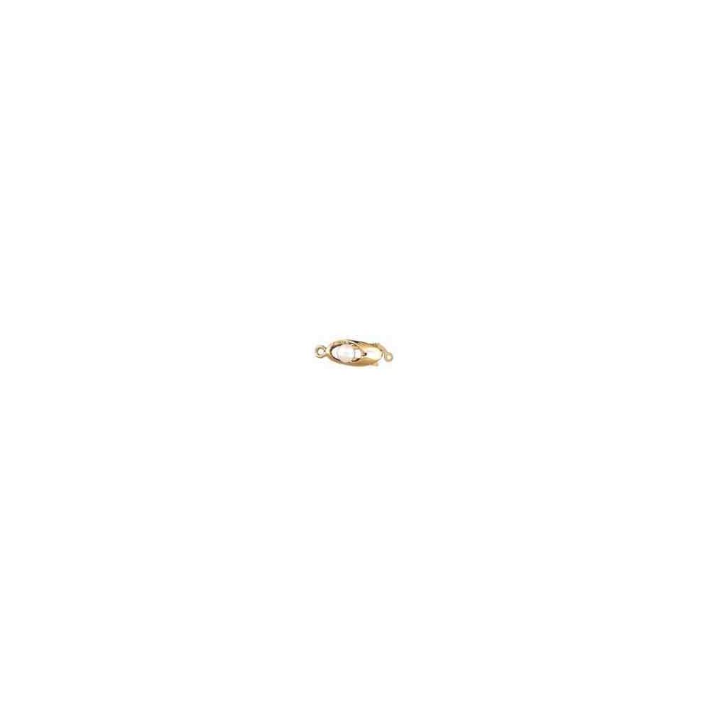 Broche plata chapada 1ª ley - 1 vuelta 70818