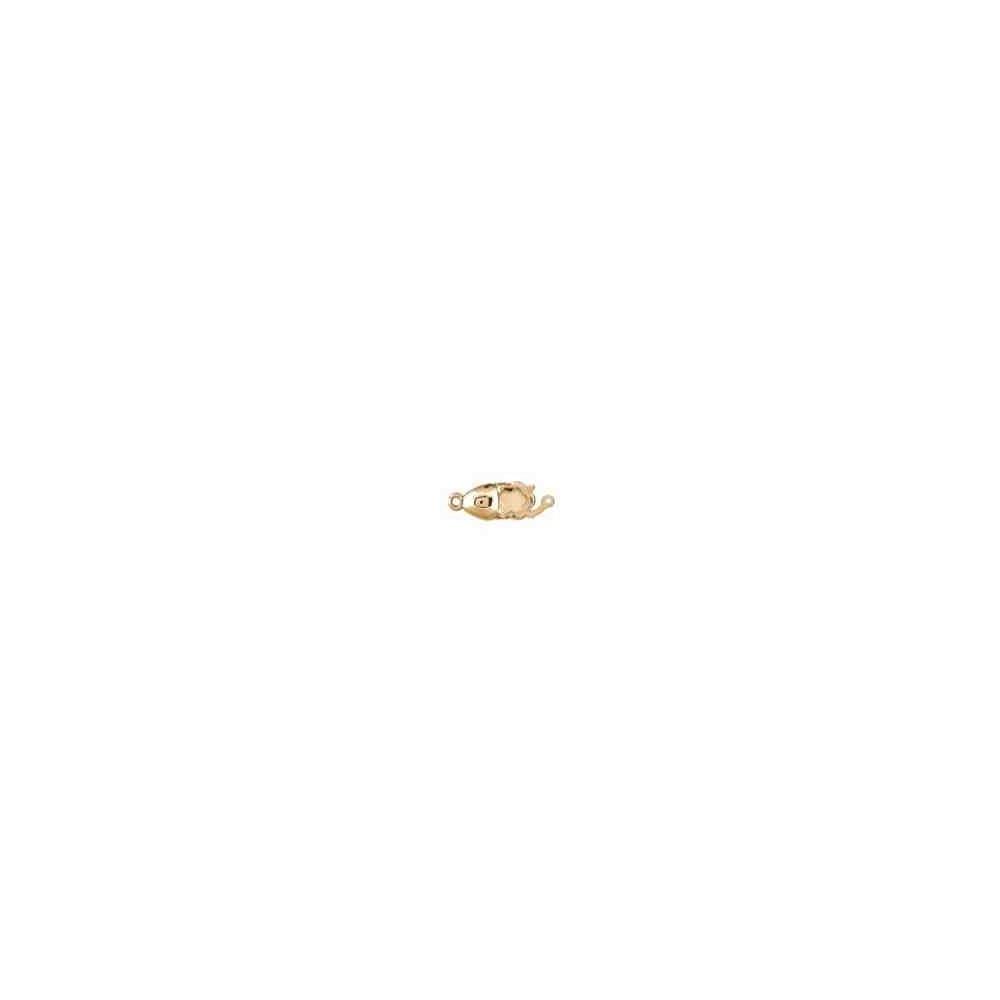 Broche de collar 1 vuelta.AG-925 CH. 70819