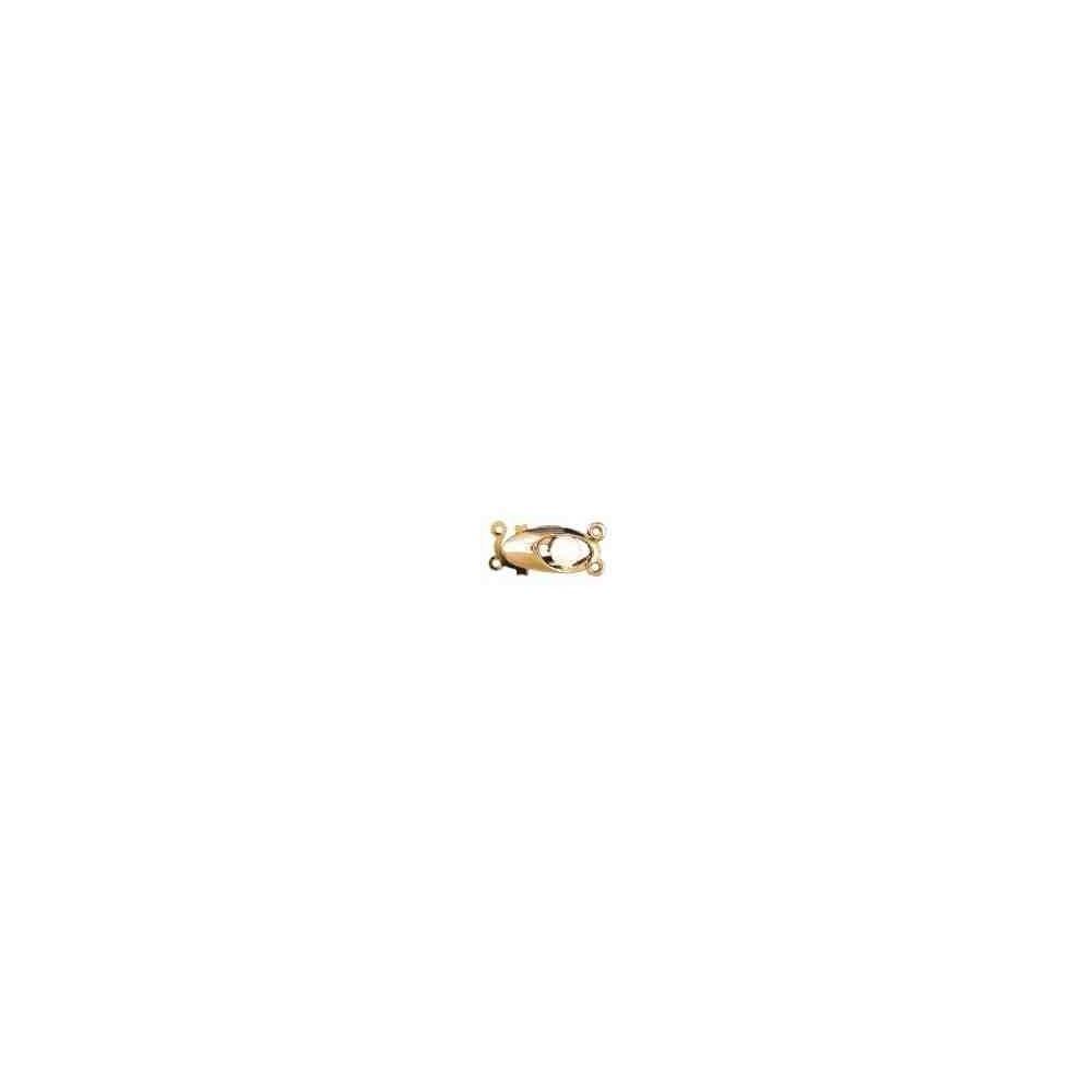 Broche de collar 2 vueltas.AG-925 CH. 70827