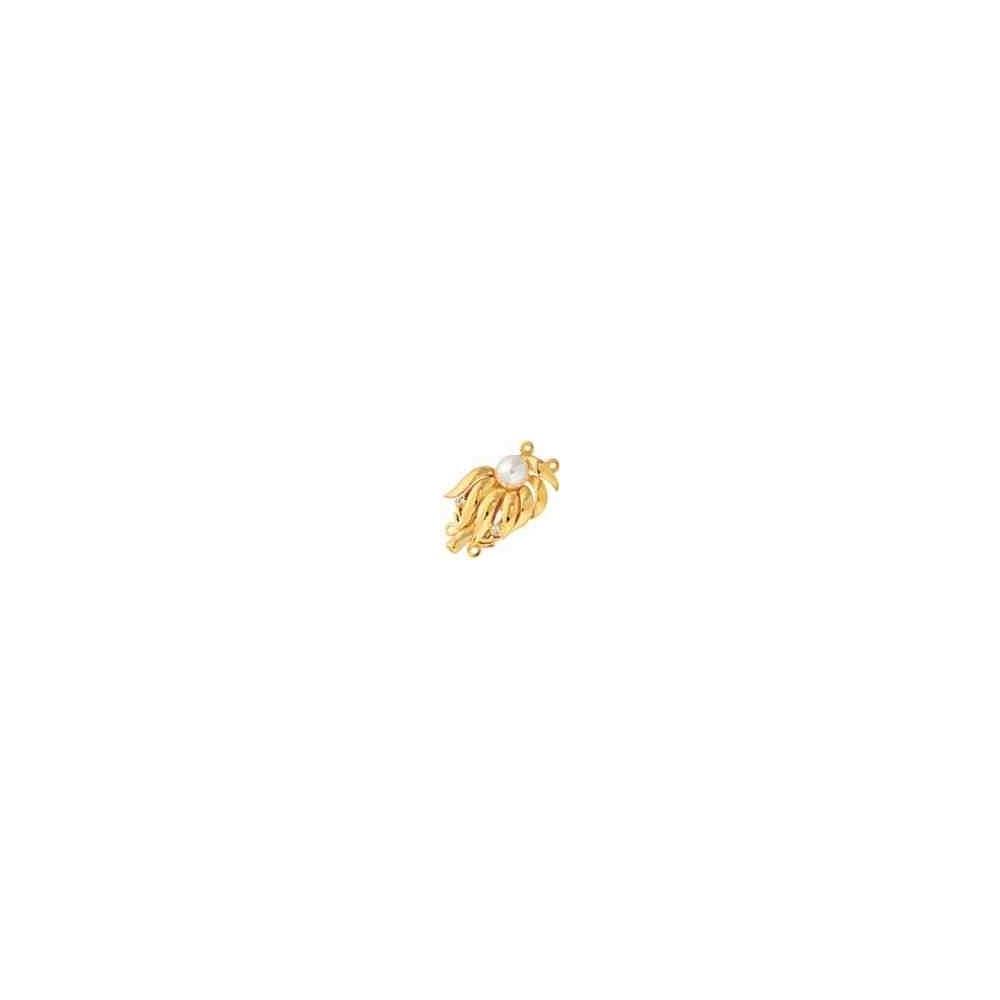 Broche de collar 2 vueltas.AG-925 CH. 70831