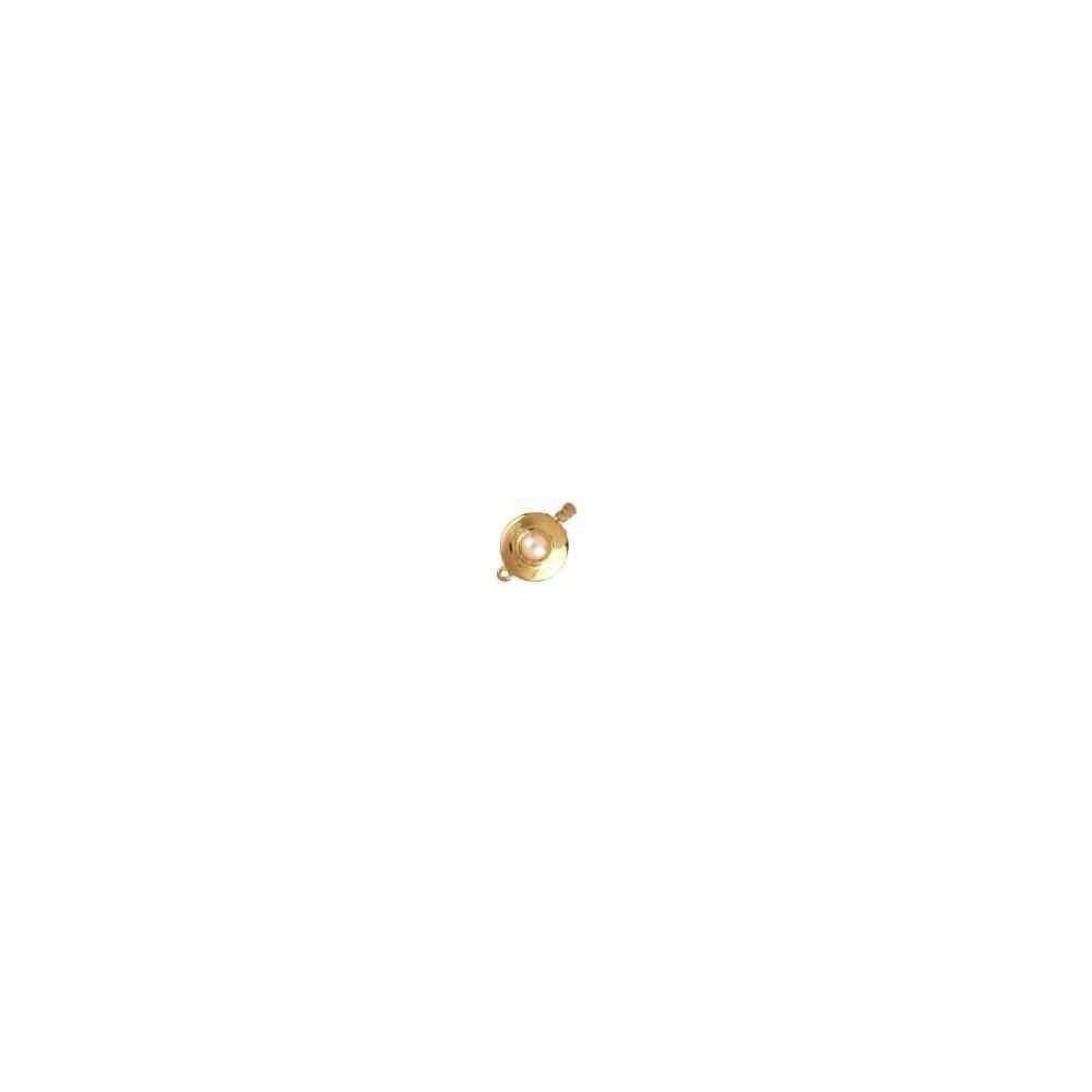 Broche plata chapada 1ª ley - 1 vuelta 70955
