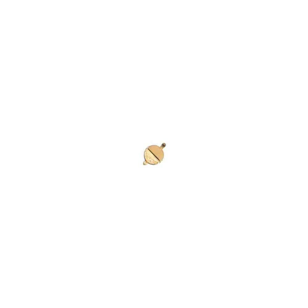 Broche plata chapada 1ª ley - 1 vuelta 70963
