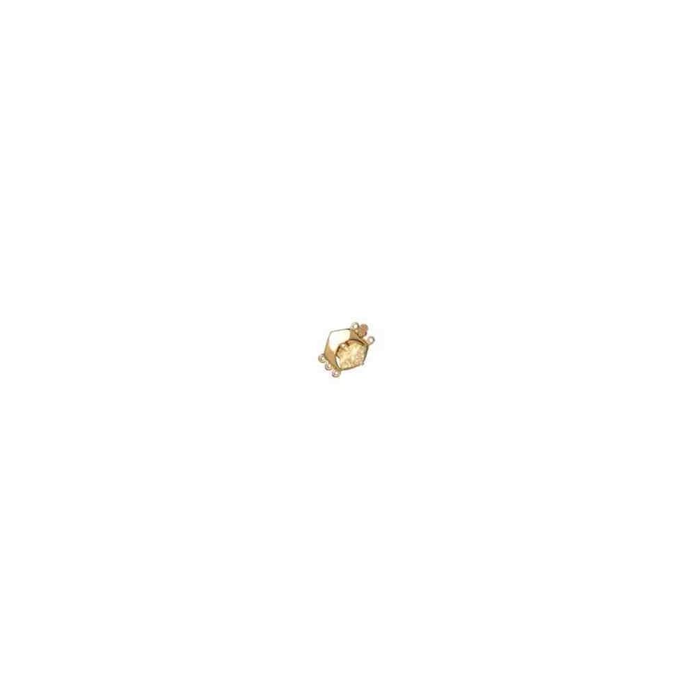 Broche de collar 3 vueltas.AG-925 CH. 70964