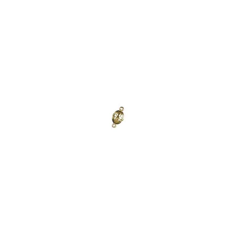 Broches imantados p/chapada - Gallonados 14 x 9.25 mm. 74050CH